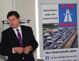 Verkehrsminister Meyer im April 2014